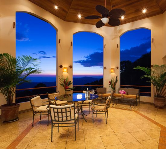 Luxury Covered Pation Ocean View Designing Idea