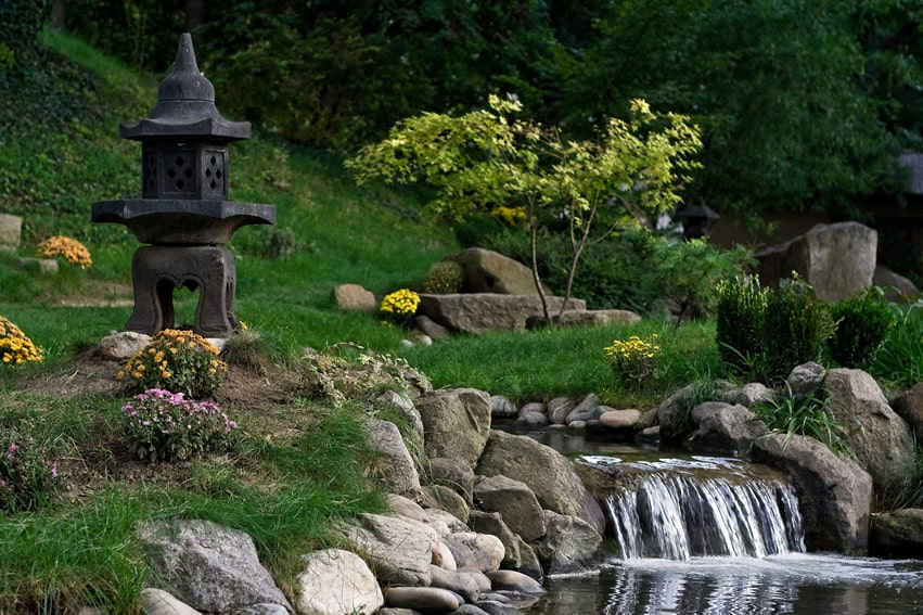 57 garden water feature designs designing idea for Japanese garden features