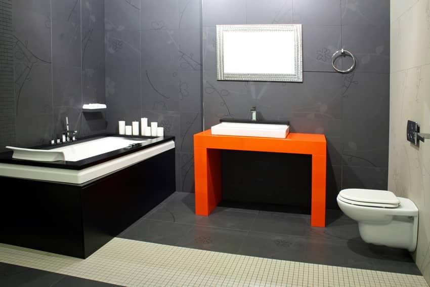 15 Black and White Bathroom Ideas (Design Pictures) - Designing Idea