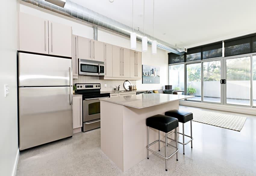 white small size kitchen island barstools  Designing Idea