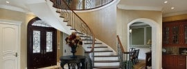 luxury-foyer-with-spiral-staircase
