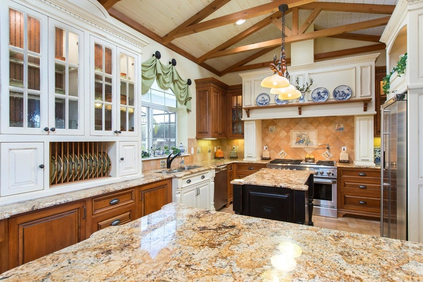 Country colors for kitchens - Country kitchen colors ...
