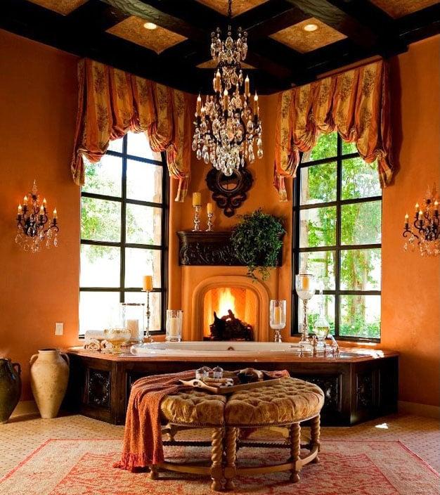 Bathroom Tub Chandeliers 27 gorgeous bathroom chandelier ideas - designing idea