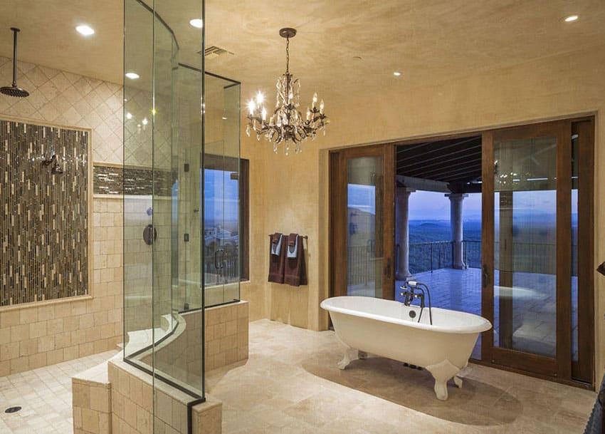 Fantastic 27 Gorgeous Bathroom Chandelier Ideas Designing Idea Largest Home Design Picture Inspirations Pitcheantrous