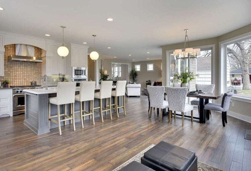 Marvelous 27 Open Concept Kitchens Pictures Of Designs Layouts Largest Home Design Picture Inspirations Pitcheantrous