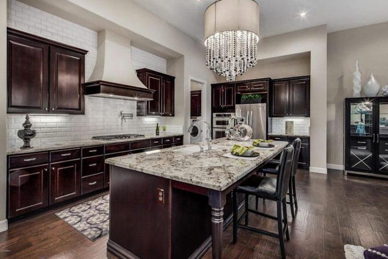 29 Custom Solid Wood Kitchen Cabinets