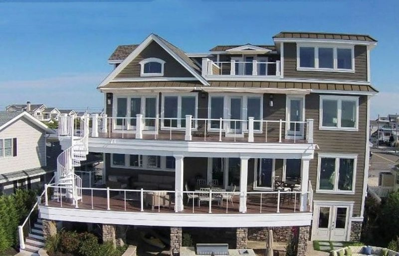 Four Story House Plans luxury 4 story house design on the waterfront - designing idea