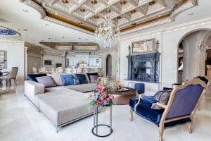 Gorgeous Living Room Chandelier Ideas