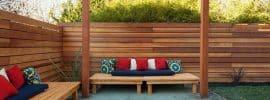 horizontal-wood-fence-with-wood-pergola
