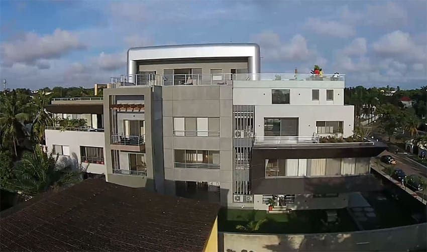 Modern apartment custom architecture design