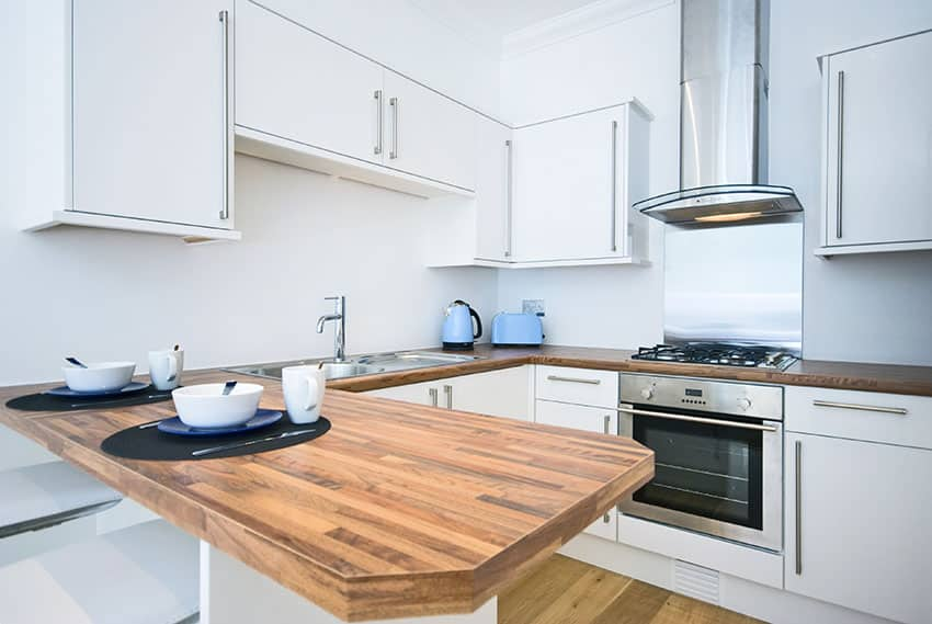 Small Light Wood Kitchen Table