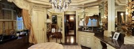 beautiful-master-bathroom-with-traditional-decor-and-crystal-chandelier-separate-tub-room