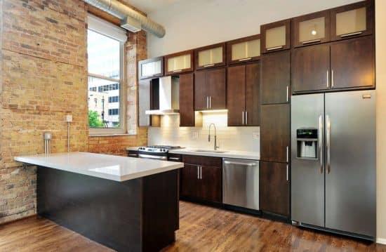 Modern White Kitchen Pics: Small Kitchens With Dark Cabinets (Design Ideas
