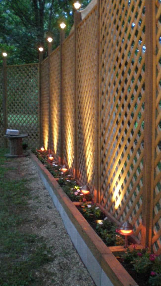 50 Lattice Fence Design Ideas Pictures Of Popular Types