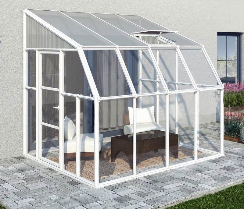 40 beautiful sunroom designs pictures designing idea for Greenhouse sunroom addition