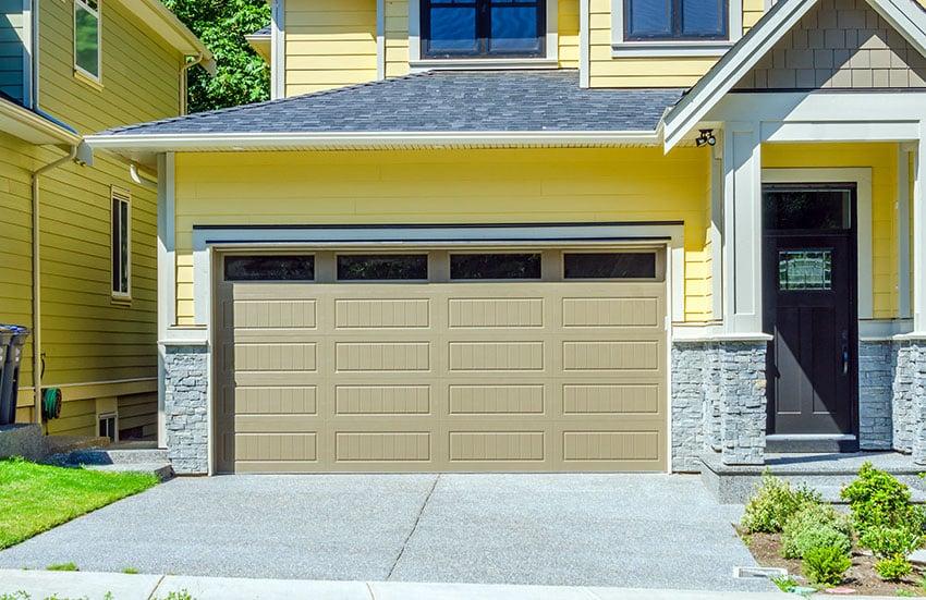 painted garage doors ideas - Color Garage Doors & Best 25 Garage Door Colors Ideas