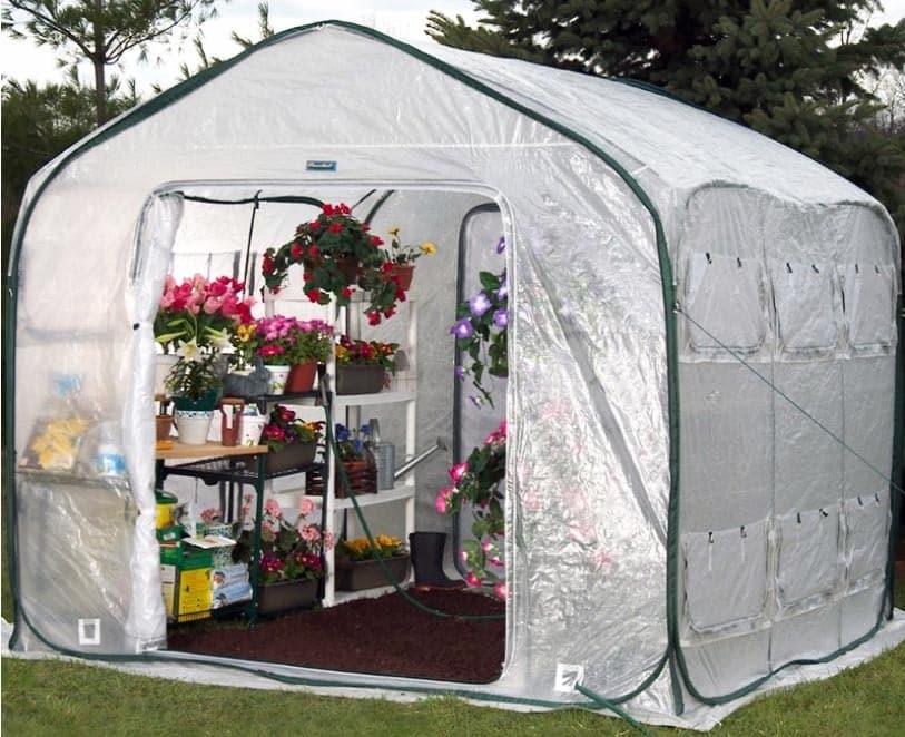 4 season backyard greenhouse