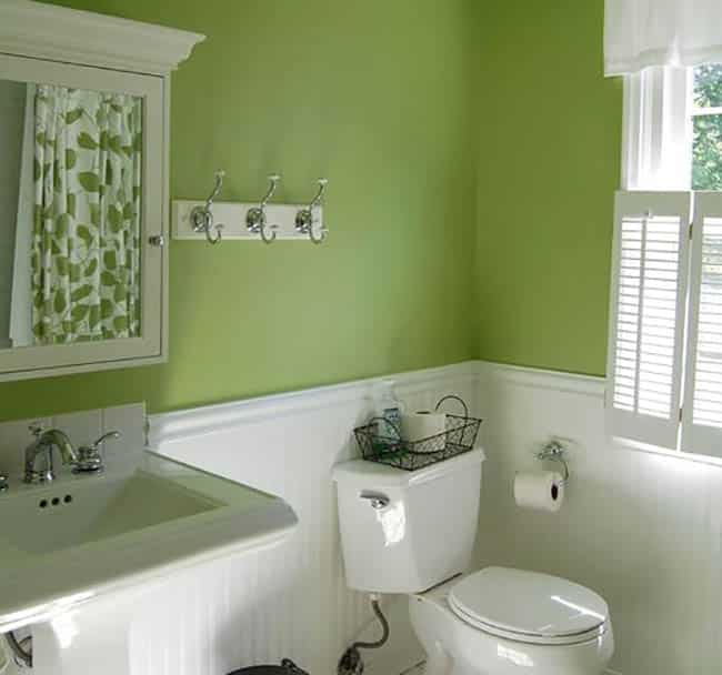 Bathroom Seafoam Green: What Does The Color Green Mean (Interior Design Guide