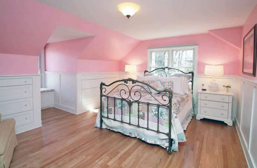 bedroom-with-millennial-pink-paint-color