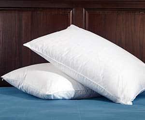 Duck down pillow