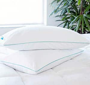 Memory foam pillow for bed