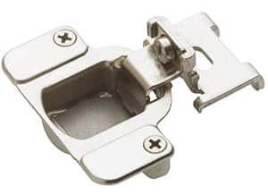 Inset concealed hinge for kitchen cabinets