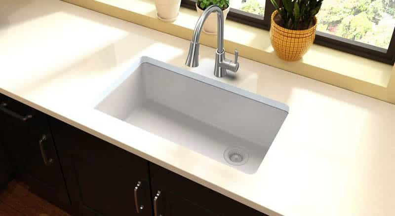 Types of kitchen sinks ultimate guide designing idea for Types of kitchen sink materials