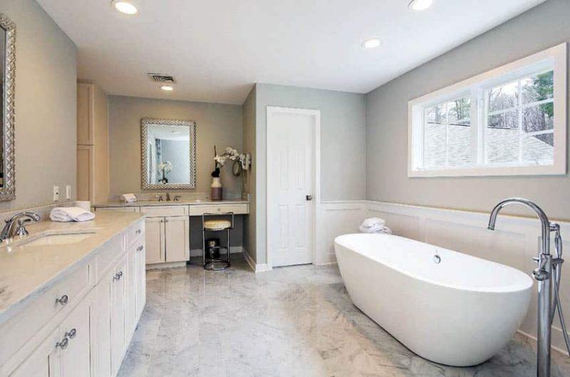 Bathroom Wainscoting Ideas Designing Idea