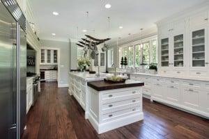 luxury-white-kitchen-hardwood-flooring