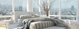amazing-view-modern-bedroom-tall-windows