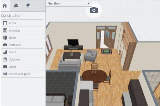Free interior design software designing idea - Online interior design software ...