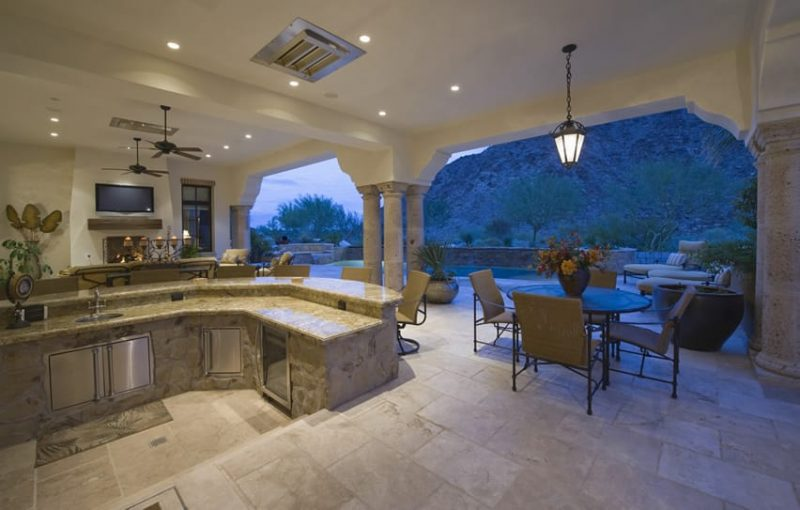 37 Outdoor Kitchen Ideas & Designs (Picture Gallery) - Designing Idea