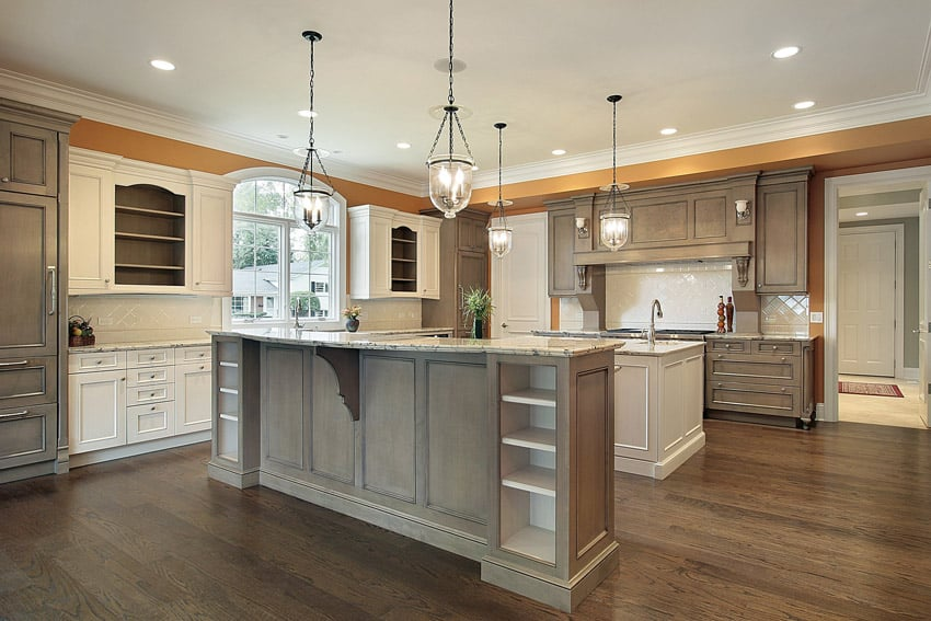 Beautiful Traditional Kitchen Designs Designing Idea - Beautiful gray kitchens