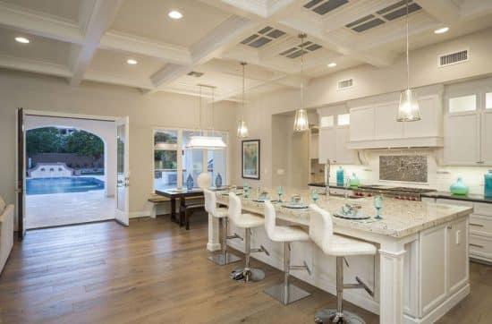 30 Open Concept Kitchens Pictures Of Designs Layouts Designing Idea