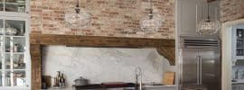 rustic-kitchen-with-reclaimed-brick-and-exposed-beam-ceiling