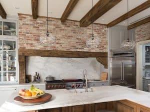 47 Brick Kitchen Design Ideas (Tile, Backsplash & Accent Walls)
