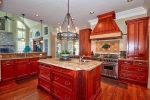 25 Cherry Wood Kitchens (Cabinet Designs & Ideas)