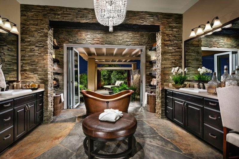 Imagine Luxuriating In One Of These Stunning Master Bathrooms Complete With High  End Finishes And Elegant Decor. These Beautiful Pictures Showcase ...