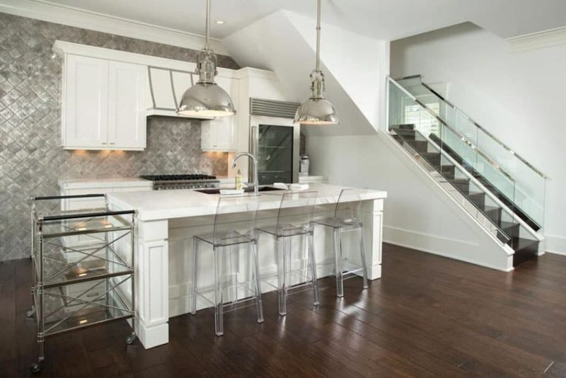 28 Modern White Kitchen Design Ideas Photos