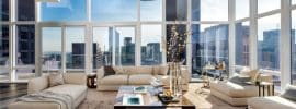 contemporary-penthouse-living-room-with-drum-chandelier-and-amazing-city-views
