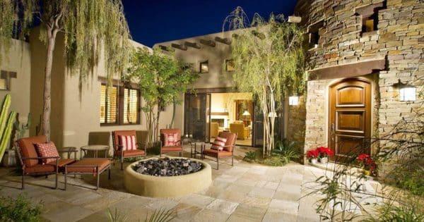 35 Stone Patio Ideas Pictures Designing Idea