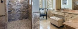 luxury-shower-with-travertine-tile-in-cream-color-vanity-bathroom