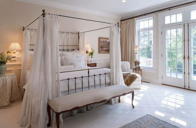 Parisian Style Bedroom Ideas (Furniture U0026 Decor)
