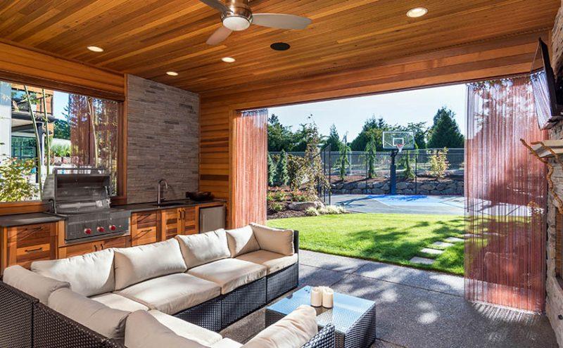 38 Beautiful Backyard Pavilion Ideas (Design Pictures) - Designing Idea