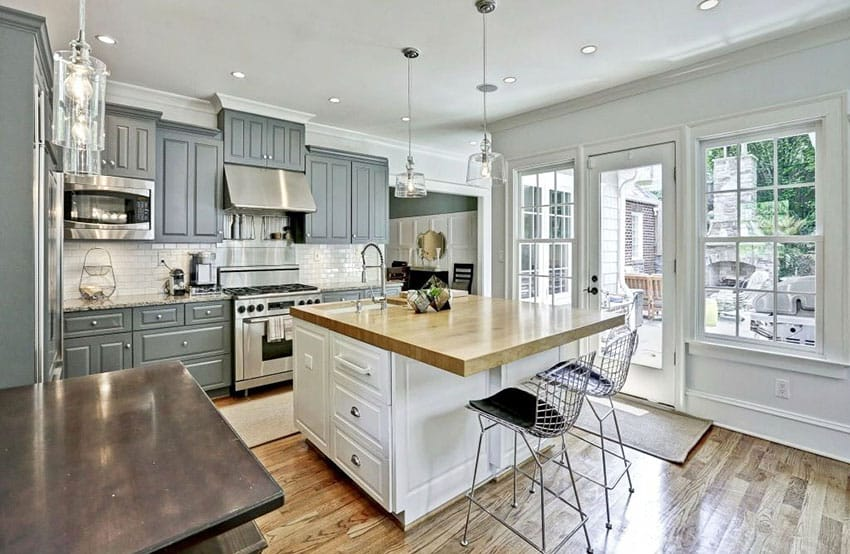 Kitchen Island Ideas With Stove Top