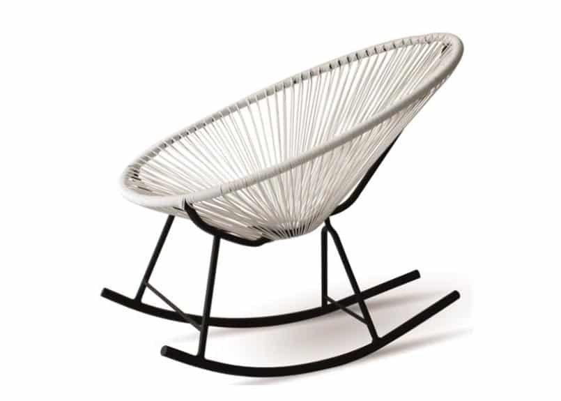 Hammock style rocking chair