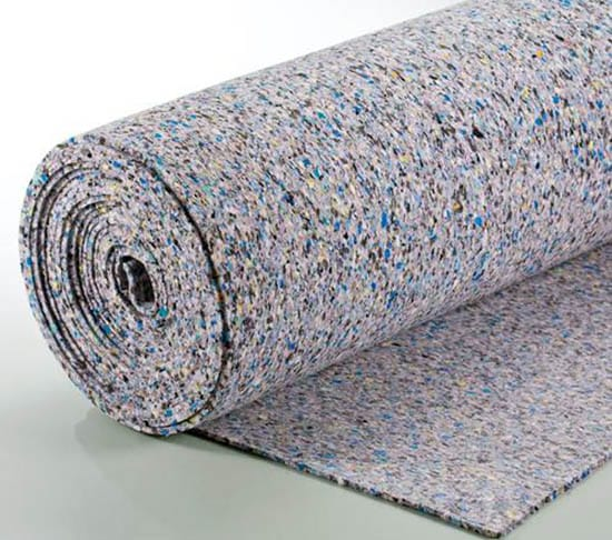 Foam carpet padding