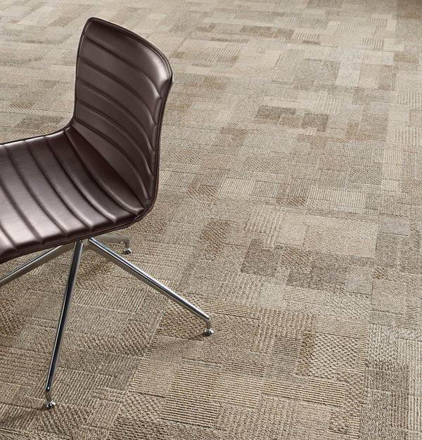 Nylon carpet in beige