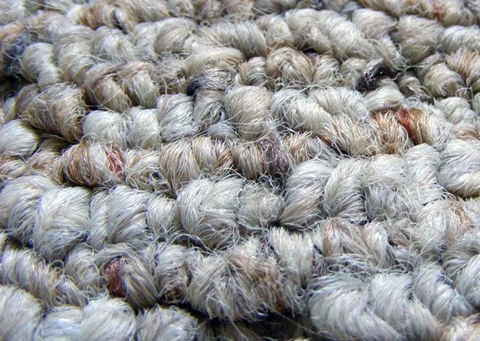 Uncut loop carpet