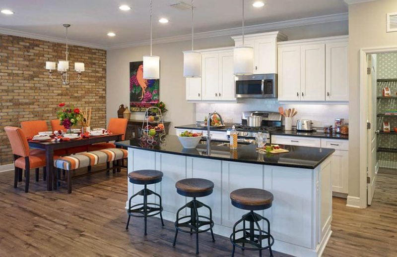 In this gallery we explore the best kitchen paint colors for a variety of cabinetry and design styles. Contemporary kitchen with white ... & Best Kitchen Paint Colors (Ultimate Design Guide) - Designing Idea
